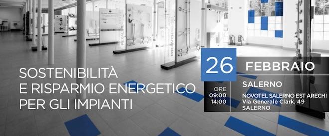Seminario: Sostenibilità e risparmio energetico per gli impianti